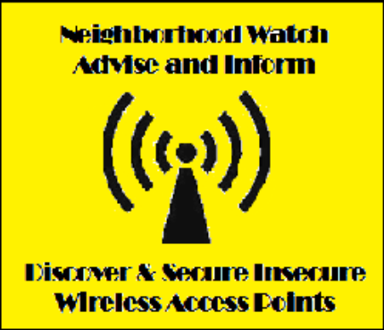 WiFi - Neighborhood Watch