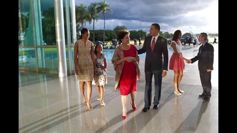 Obama Rousseff