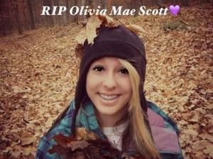 Bullycide victim Olivia Mae Scott