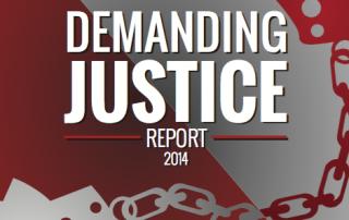 Demanding Justice Report - 2014