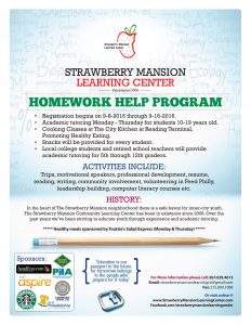 Burgessct - Strawberry Mansion Learning Center Flyer